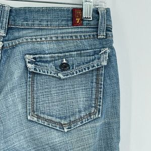 7 For All Mankind flap pocket flare jeans